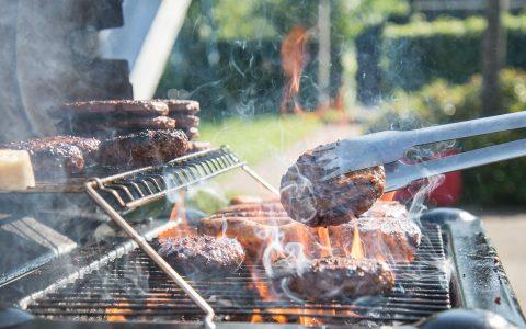 barbecue materialen